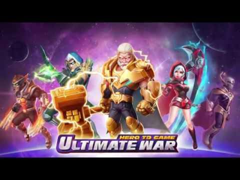 Ultimate War- Hero TD Game Pre-registration Trailer