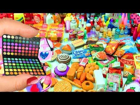 Más de 1000 Cosas en Miniatura -  Mis Cosas Favoritas de Mis Videos de Manualidades Para Muñecas