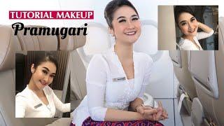Tutorial MakeUp Pramugari Tahan Seharian!! / Anti mahal-mahal club
