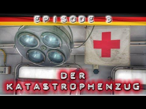Der Katastrophenzug: Das rollende Krankenhaus  - Lost Places & Urban Exploration Germany