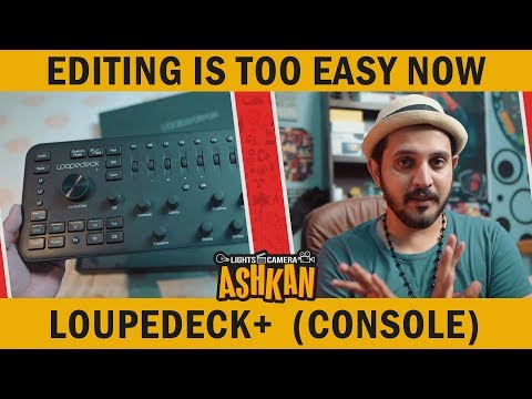 Video Editing With LOUPEDECK+ | Adobe Premiere 2018 | Tech Review | Mansoor Qureshi MAANi