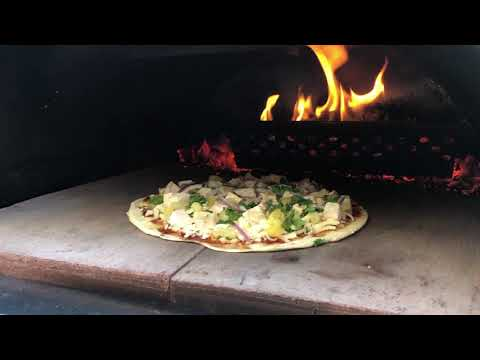 Amazing Wood Fired Pizza from the Nonno Peppe Outdoor Pizza Oven!