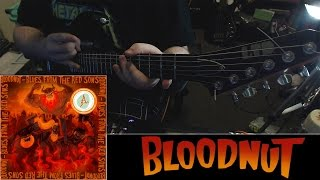 I talk about Bloodnut + short Witches Mountain guitar cover