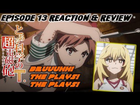 Download Toaru Kagaku no Railgun T Episode 13 Reaction & Review (とある科学の超電磁砲[レールガン]T)