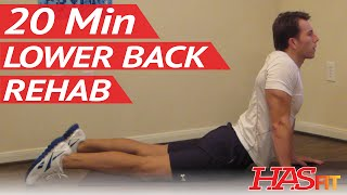 20 Min Lower Back Rehab
