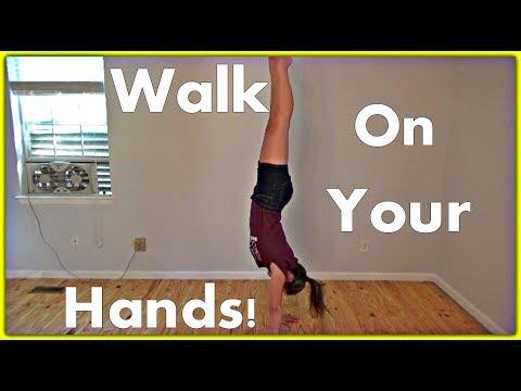How To Walk On Your Hands   Gymnastics Tutorial