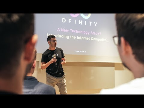 Genesis Talks: 2nd DFINITY Meetup Munich