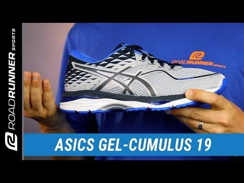 Luminancia fútbol americano Ingenioso  ASICS GEL-Cumulus 19 | Men's Fit Expert Review - YouTube