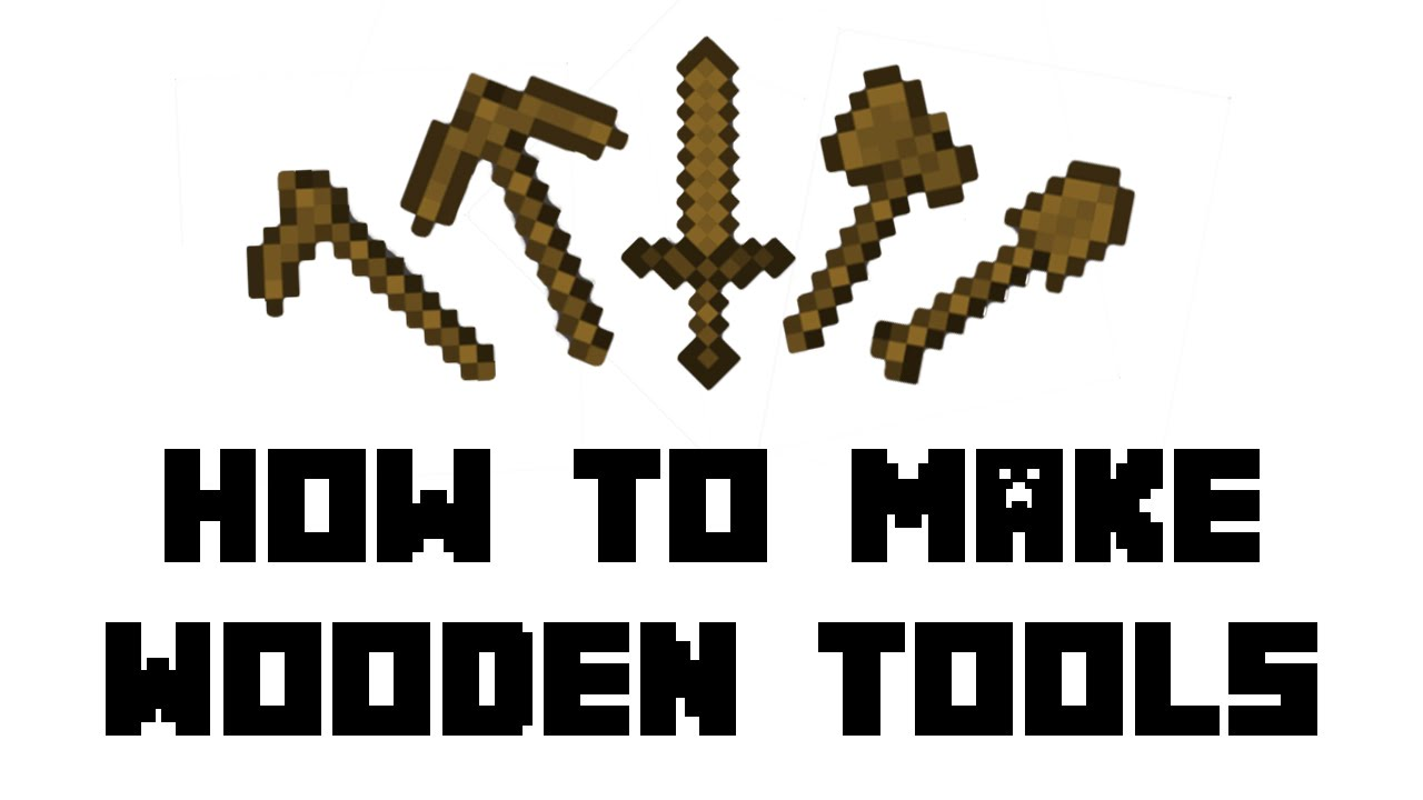Image result for wooden tools minecraft