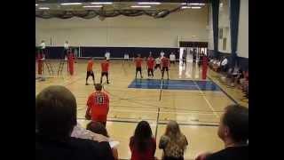 zach schmidt kaukauna boys volleyball highlights
