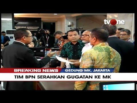 [BREAKING NEWS] MK Terima Berkas Gugatan BPN Prabowo-Sandi, Lengkapkah?