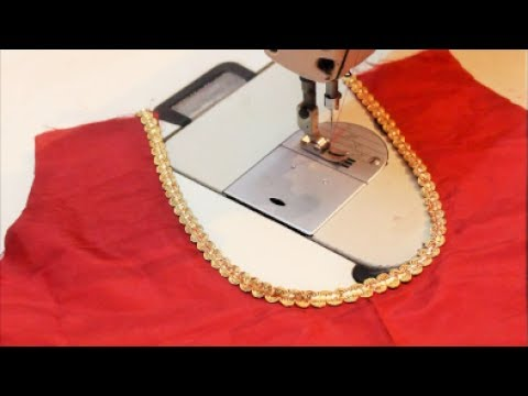 Lining Blouse Stitching(DIY)-Tamil - YouTube