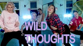 Wild Thoughts Dj Khaled Ft. Rihanna  Jasmine Meakin Mega Jam