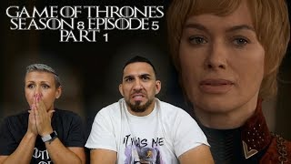 Game of Thrones Season 8 Episode 5 'The Bells' Part 1 REACTION!!