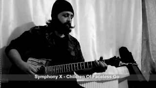 Ulaş Karabulut - Symphony X - Children Of A Faceless God (main riff)