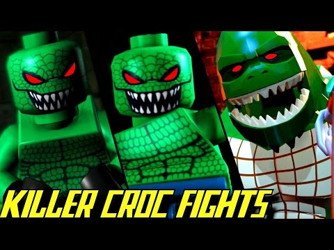 Thumbnail: Evolution of Killer Croc Battles in LEGO Batman Games (2008-2017)