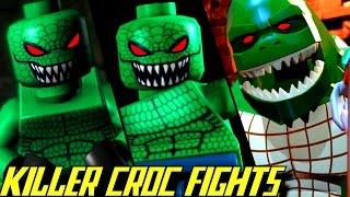 Evolution of Killer Croc Battles in LEGO Batman Games (2008-2017)