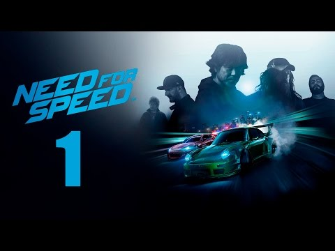 Need For Speed 2015 PS4 Gameplay Walkthrough Part 1