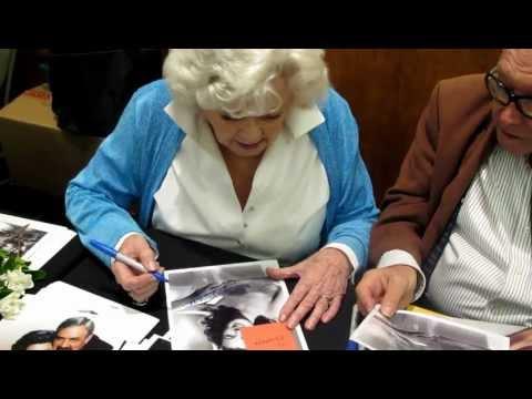 Barbara Hale Signing Autographs