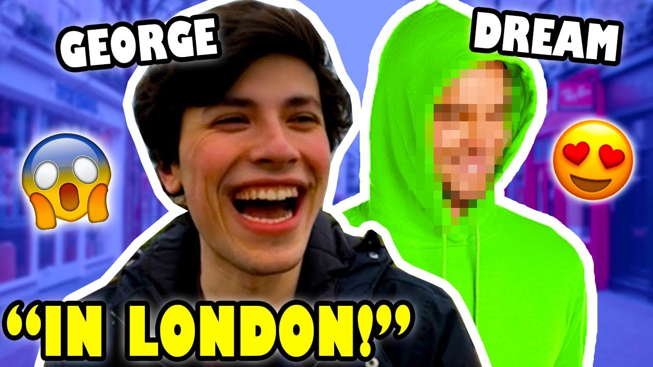 Dream Is WITH GEORGE In LONDON !? #DreamNotFound