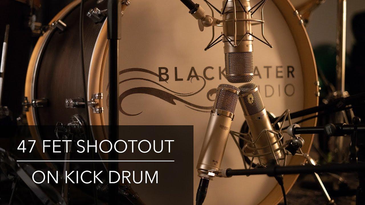 47 FET Shootout on Kick Drum | Advanced Audio CM48FET vs FLEA 47 SUPERFET vs Warm Audio WA-47Jr
