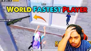 WORLD Fastest SNIPER Wan Qiu Gaming BEST Moments in PUBG Mobile