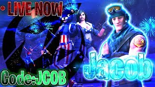 'Fortnite'BLUEBEES'ARENA Duo w/lil crl!Sponcers new PC!USE CODE:JCOB