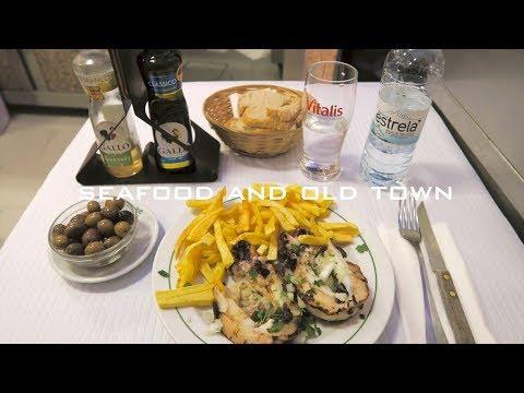 ポルトガルの旅8 / リスボン旧市街の路地裏散策・食堂でシーフード料理 / Lisbon Old Town, Portugal Travel #8【海鮮料理】