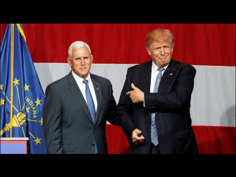 Trump announces Indiana Governor Mike Pence as VP pick