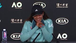 Naomi Osaka Great Press conference before the FINAL AUS OPEN 2019