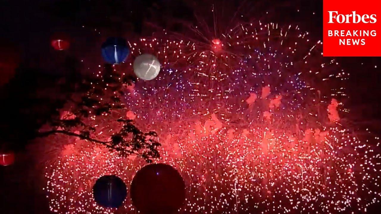 Fourth Of July Fireworks Light Up Washington, D.C.