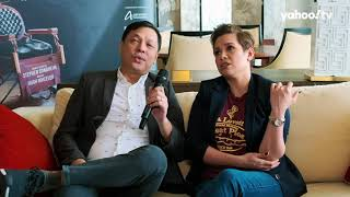 Lea Salonga & Jett Panga Sweeney Todd Singapore interview
