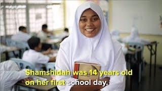 Shamshida a Rohingya student defies the odds in Malaysia