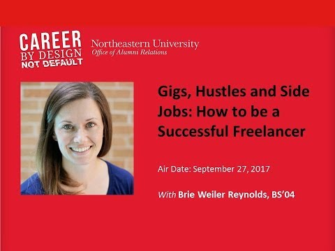 Career by Design Webinar: Gigs, Hustles, and Side Jobs: How to be a Successful Freelance