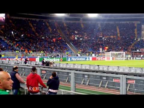 tanto per canta' e Campo Testaccio  Roma-Chelsea prepartita