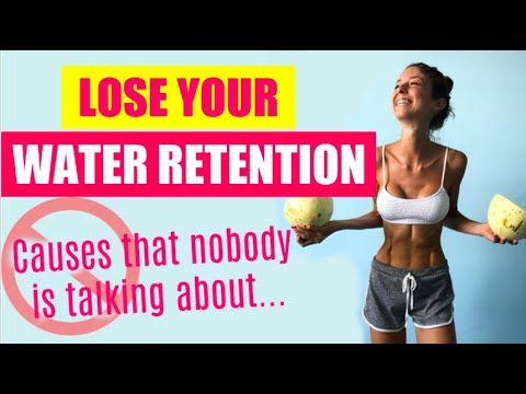 HOW TO STOP WATER RETENTION LOSE WATER WEIGHT FAST