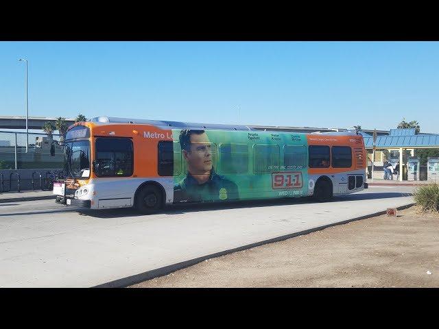 [EXPRESS] LACMTA - NABI Metro 45C ride (8504) - 12/20/2017