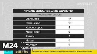 В Подмосковье выявлено 43 новых случая заражения коронавирусом - Москва 24
