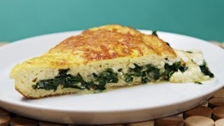 Soufflé Omelette With Robiola & Sautéed Ramps