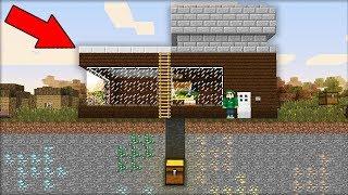 Что Находится В Этом Секретном Тайнике Под Моим Домом В Майнкрафт 100% Троллинг Ловушка Minecraft