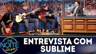 Entrevista com Sublime | The Noite (13/09/18)