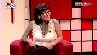La Suicide Girl Valentina Dávila, en Soundtrax/ BANG TV