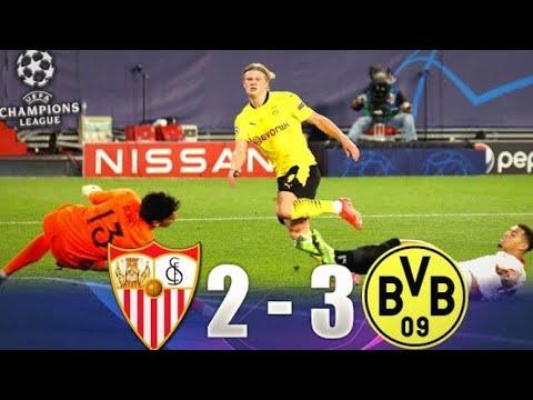 RESUME|Sevilla Vs Borussia Dortmund 2-3 All Goals Extended Highlights 2021