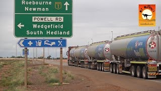 Extreme Trucks #31 - Road trains & Massive rigs of the Pilbara, mining trucks in action
