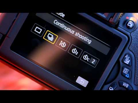 Continuous Shooting - Canon EOS 650D DSLR Camera Tutorial - Canon