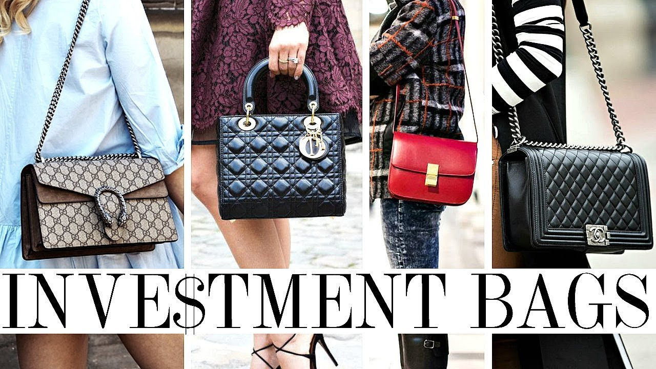15 BEST DESIGNER HANDBAGS WORTH THE INVESTMENT! - YouTube f9cd8f816865a