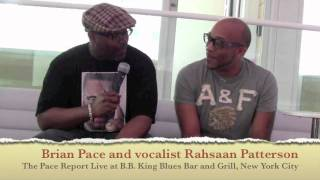 "The Pace Report: ""In a Bleuphoria Mood"" The Rahsaan Patterson Interview"