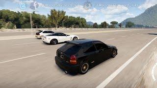 Forza Horizon 2 (XB1) | K20 Turbo Civic Build + Runs w/ Supras, Civics, LT1 Willys & More