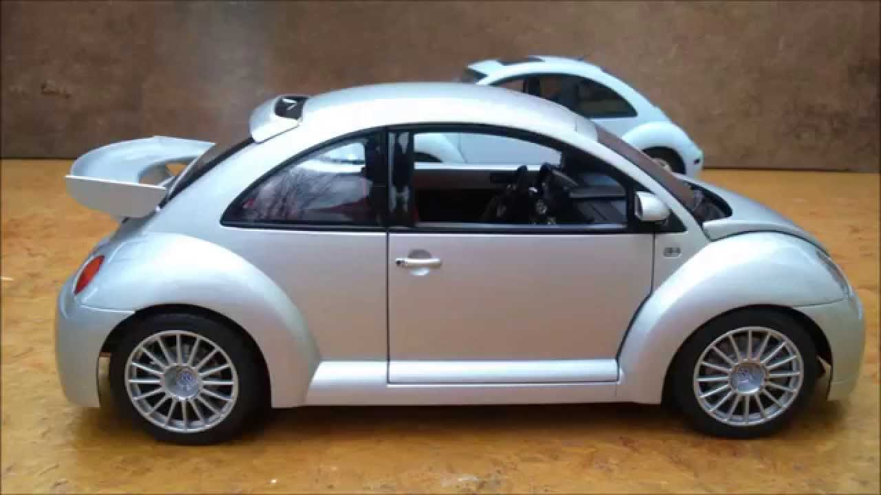 volkswagen new beetle rsi 1 18 autoart youtube. Black Bedroom Furniture Sets. Home Design Ideas