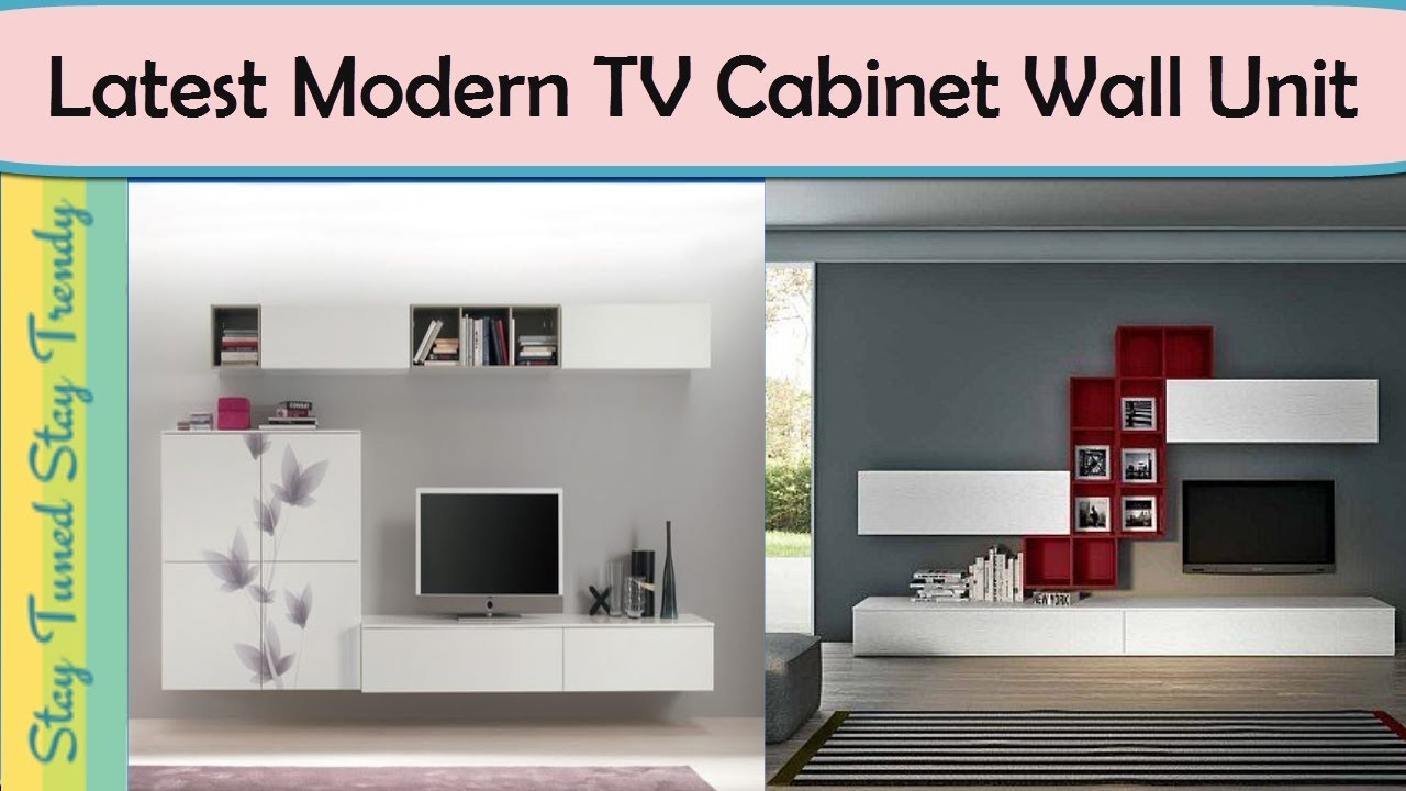 Top 80 Worlds Latest Modern TV Cabinet Wall Unit Furniture ...